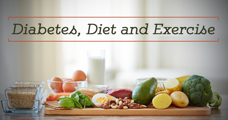 getting rid of diabetes through diet and exercise